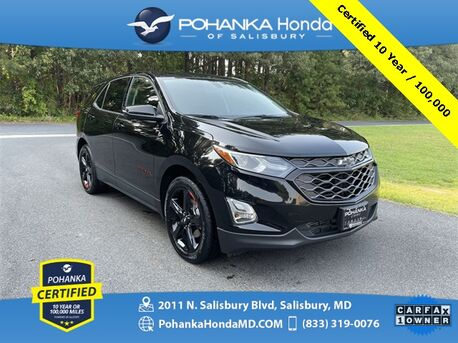 2019_Chevrolet_Equinox_LT 2LT AWD ** Pohanka Certified 10 Year / 100,000 **_ Salisbury MD