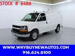 2019 Chevrolet Express 2500 ~ Ladder Rack & Shelves ~ Only 10K Miles!