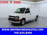 2019 Chevrolet Express 2500 ~ Ladder Rack & Shelves ~ Only 11K Miles!