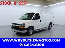 2019_Chevrolet_Express 2500_~ Ladder Rack & Shelves ~ Only 14K Miles!_ Rocklin CA