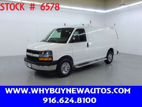 2019 Chevrolet Express 2500 ~ Ladder Rack & Shelves ~ Only 18K Miles! Rocklin CA