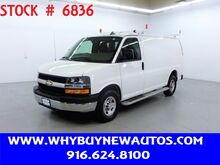 2019_Chevrolet_Express 2500_~ Ladder Rack & Shelves ~ Only 19K Miles!_ Rocklin CA