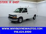 2019 Chevrolet Express 2500 ~ Ladder Rack & Shelves ~ Only 7K Miles!