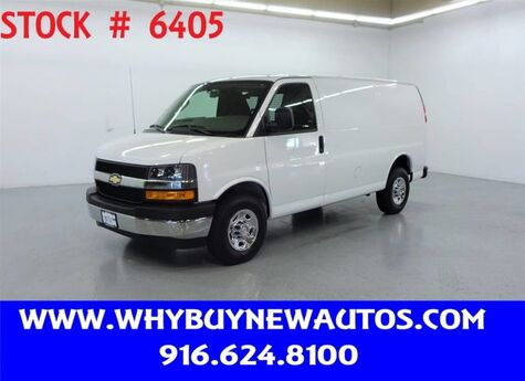 2019 Chevrolet Express 2500 ~ Only 4K Miles! Rocklin CA