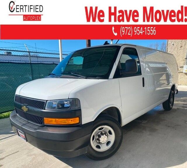 2019 Chevrolet Express Cargo Van 2500 EXTENDED CARGO VAN REAR CAMERA LEATHER SEATS POWER LOCKS POWER WINDOWS Dallas TX
