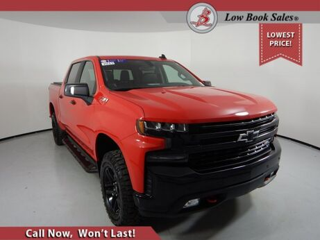 2019_Chevrolet_SILVERADO 1500_CREW CAB 4X4 LT TRAIL BOSS_ Salt Lake City UT