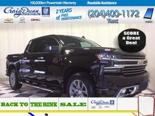 Chevrolet Silverado 1500 * HIGH COUNTRY 4x4 * HEATED & VENTED SEATS * SUNROOF * 2019