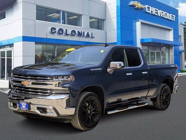 2019 Chevrolet Silverado 1500 4WD Double Cab 147 LTZ North Dartmouth MA