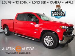 2019_Chevrolet_Silverado 1500 Crew Cab LT_*5.3L V8 ECOTEC, LONG BED, TEXAS EDITION, BACKUP-CAMERA, COLOR TOUCH SCREEN, HEATED SEATS/STEERING WHEEL, REMOTE START, BLUETOOTH, APPLE CARPLAY_ Round Rock TX