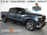 2019 Chevrolet Silverado 1500 Crew Cab LT *5.3L V8 ECOTEC, TEXAS EDITION, BACKUP-CAMERA, COLOR TOUCH SCREEN, HEATED SEATS/STEERING WHEEL, REMOTE START, 20 INCH WHEELS, APPLE CARPLAY