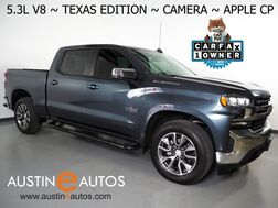 2019_Chevrolet_Silverado 1500 Crew Cab LT_*5.3L V8 ECOTEC, TEXAS EDITION, BACKUP-CAMERA, COLOR TOUCH SCREEN, HEATED SEATS/STEERING WHEEL, REMOTE START, 20 INCH WHEELS, APPLE CARPLAY_ Round Rock TX