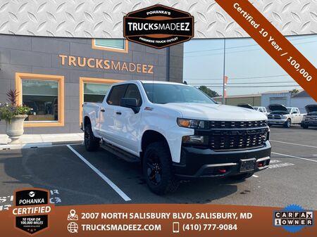 2019_Chevrolet_Silverado 1500_Custom Trail Boss * Pohanka Certified 10 Year / 100,000 **_ Salisbury MD