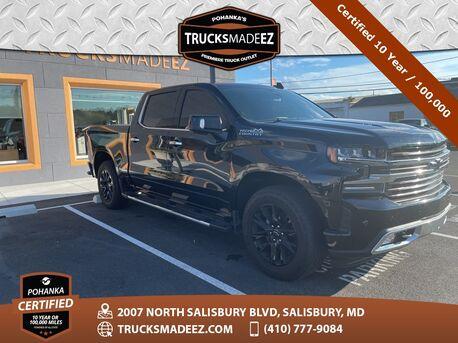 2019_Chevrolet_Silverado 1500_High Country 4WD ** Pohanka Certified 10 Year / 100,000  **_ Salisbury MD
