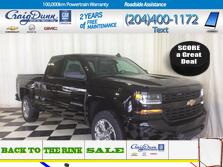 Chevrolet Silverado 1500 LD * Custom Double Cab 4x4 * REAR CAMERA * 20 CHROME CLAD WHEELS * 2019