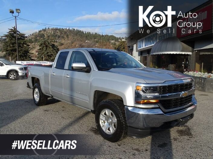 2019 Chevrolet Silverado 1500 LD LT No Accidents! One Owner, Navigation, Back-up Camera, Bluetooth, Tow Package Kelowna BC