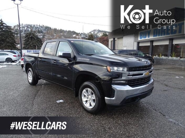 2019 Chevrolet Silverado 1500 LT, No Accidents! Low KM's, BLuetooth, Back-up Camera, Tow Package Kelowna BC