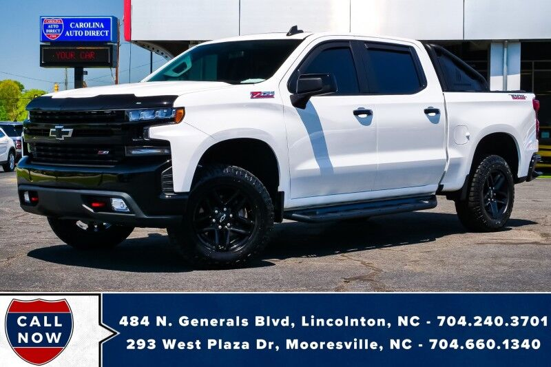 2019 Chevrolet Silverado 1500 LT Trail Boss Z71 *1-Owner* w/ Remote Start Mooresville NC
