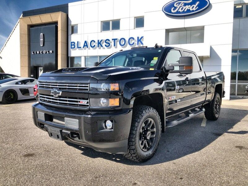 2019 Chevrolet Silverado 2500 Heavy Duty 4x4 & 6.6 Duramax with Midnight Edition 1LT Mono ON