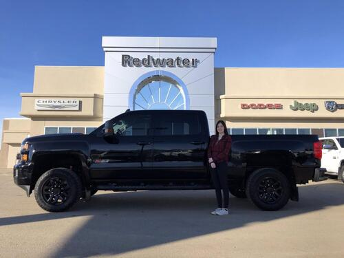 2019_Chevrolet_Silverado 2500_LTZ - Duramax Diesel - Night Edition - Sunroof - Navigation - One Owner_ Redwater AB