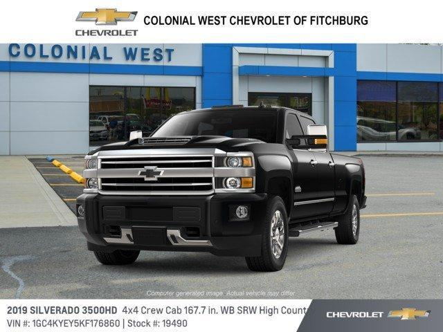 2019 Chevrolet Silverado 3500HD 4WD Crew Cab 167.7 High Country