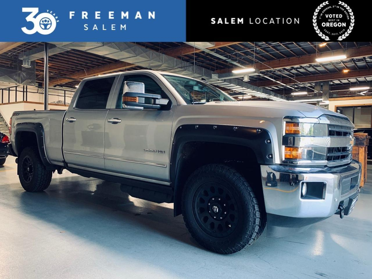 2019 Chevrolet Silverado 3500HD LTZ Duramax Plus Z71 Off-Road Package Salem OR