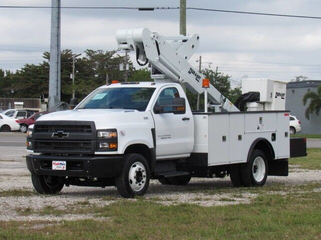 2019 Chevrolet Silverado 5500 MD Dur-A-Lift DTAX-39FP Insulated Bucket Truck 44' Working Height *$1,789* Homestead FL