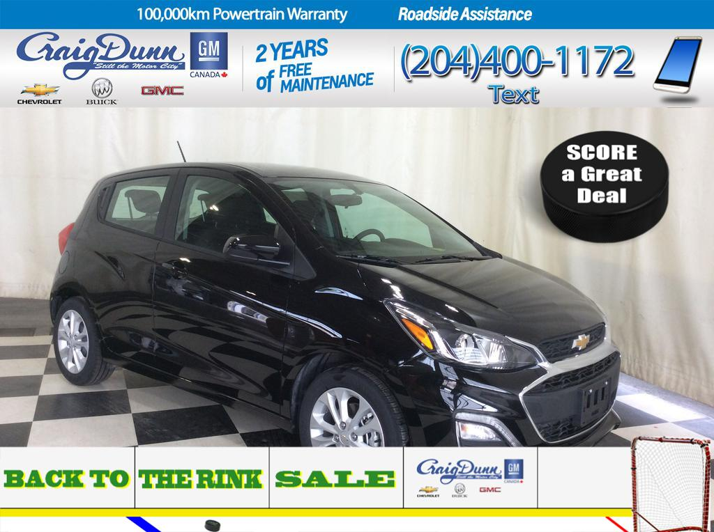 2019 Chevrolet Spark * 1LT Hatch CVT * REAR VISION CAMERA * AIR CONDITIONING *