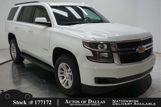 2019_Chevrolet_Tahoe_LT CAM,SUNROOF,HTD STS,PARK ASST,18IN WLS,3RD ROW_ Plano TX