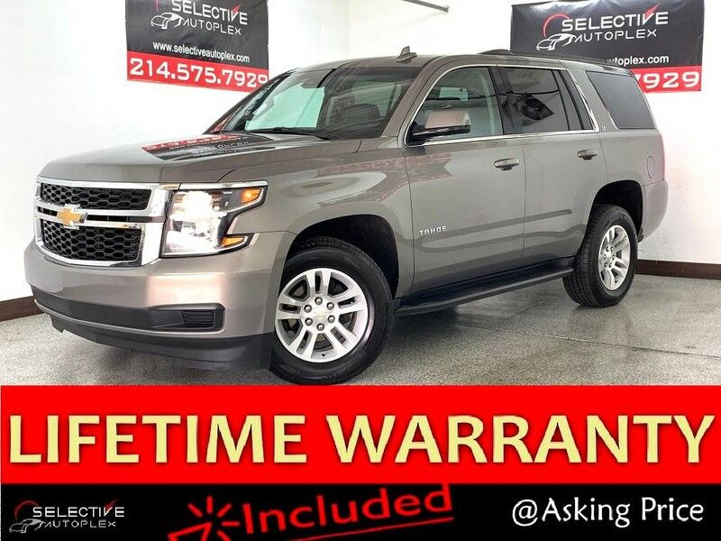 2019 Chevrolet Tahoe LT, NAV, REAR VIEW CAM, BOSE, 3RD ROW SEATS Carrollton TX