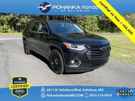 2019_Chevrolet_Traverse_LT Cloth w/1LT ** Pohanka Certified 10 Year / 100,000_ Salisbury MD