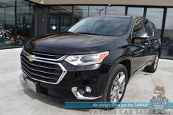 2019_Chevrolet_Traverse_Premier / AWD / Auto Start / Heated & Cooled Seats / Heated Steering Wheel / Bose Speakers / Sunroof / Navigation / 360 Camera / Lane Departure & Blind Spot / Rear Captain Chairs / 3rd Row / Seats 7 / 1-Owner_ Anchorage AK