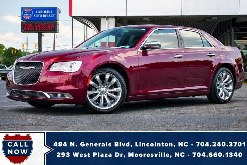 2019 Chrysler 300 Limited w/ Vented Front Seats, NAV & Remote Start Mooresville NC
