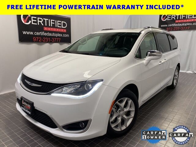 2019 Chrysler Pacifica LIMITED NAVIGATION PANORAMIC ROOF CAPTAIN SEATS Dallas TX