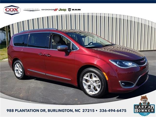 2019 Chrysler Pacifica Limited Front-wheel Drive Passenger Van Burlington NC