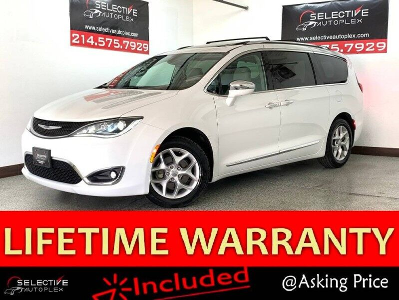 2019 Chrysler Pacifica Limited, NAV, LEATHER SEATS, SUNROOF, REAR VIEW CAM