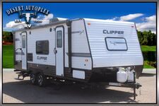 2019 Coachmen Clipper 21FQS Single Slide Ultra-Lite Travel Trailer