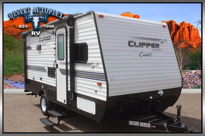 2019 Coachmen Clipper Cadet 17cbh Ultra Lite Travel