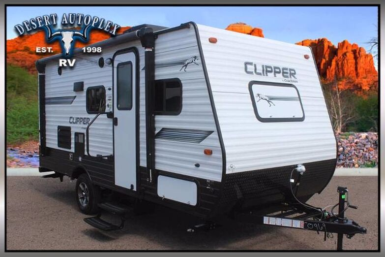 2019 Coachmen Clipper Ultra-Lite 17BHS Single Slide Travel Trailer Mesa AZ