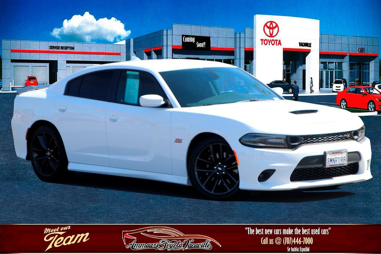 2019 Dodge Charger Scat Pack Sedan Vacaville CA