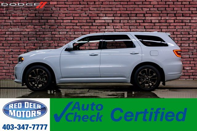 2019 Dodge Durango AWD R/T Leather Roof Nav BCam Red Deer AB