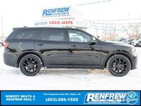 Dodge Durango R/T AWD, Nav, Remote Start, Heated/Cooled Nappa Leather, Backup Camera 2019