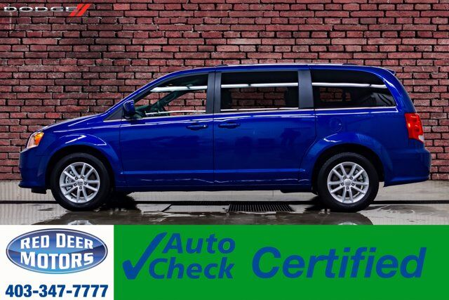 2019 Dodge Grand Caravan Premium Plus TV DVD BCam Red Deer AB