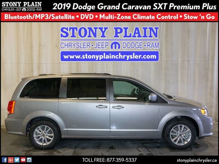 2019 Dodge Grand Caravan SXT Premium Plus Stony Plain AB