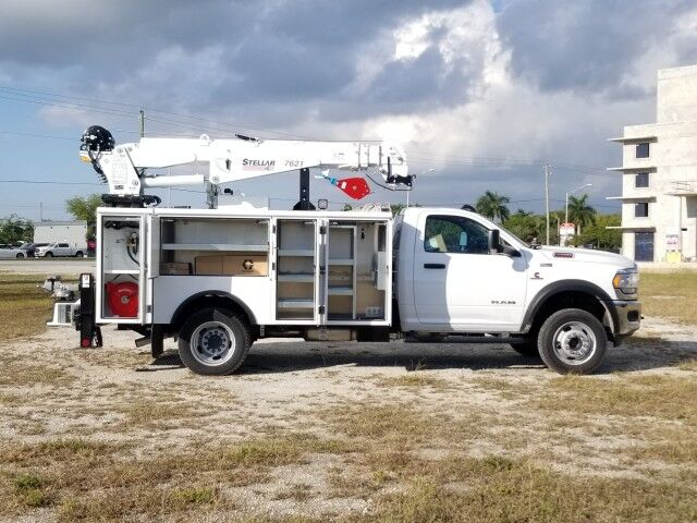 2019 Dodge RAM5500 Mechanic Service Truck with 7500 Lbs Crane Homestead FL