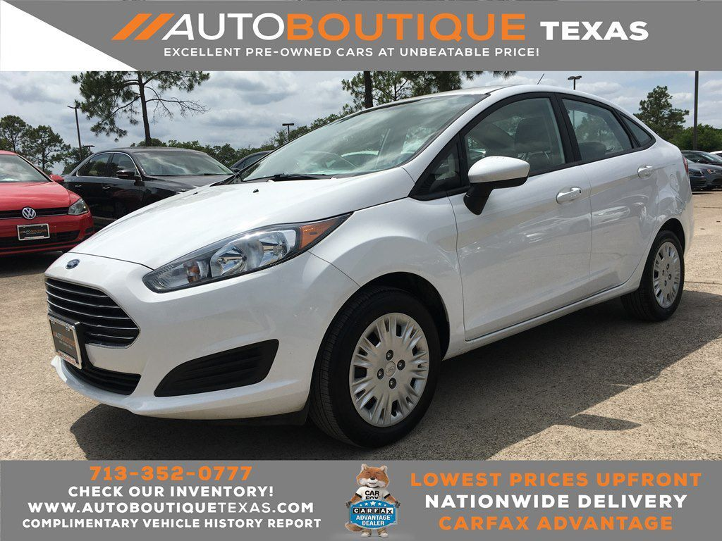 2019 FORD FIESTA S S Houston TX