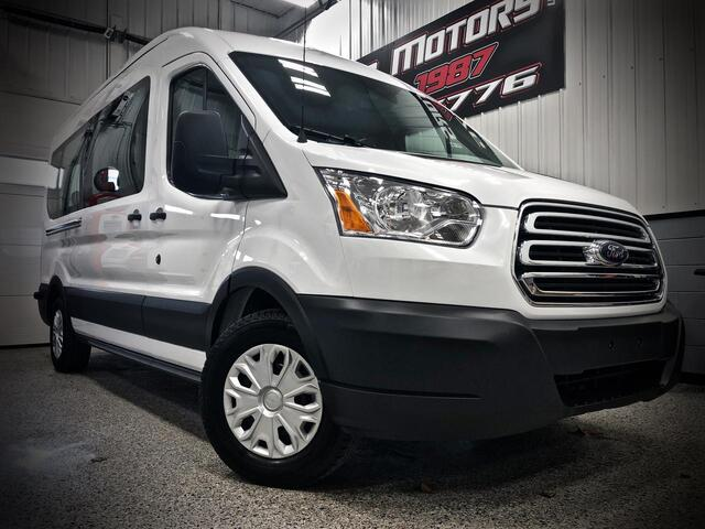 FORD TRANSIT 350 MEDIUM ROOF XLT 15 PASSENGER VAN 2019