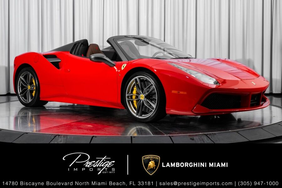 2019_Ferrari_488 Spider__ North Miami FL