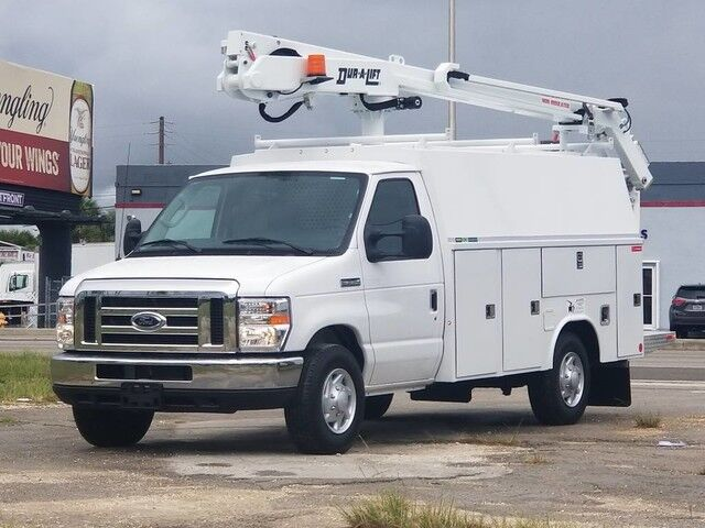 2019 Ford E-Series Cutaway Dur-A-Lift DVS-29TS Bucket Truck 34' working height Homestead FL