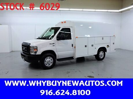 2019 Ford E350 ~ Plumber Body ~ Only 700 Miles! Rocklin CA