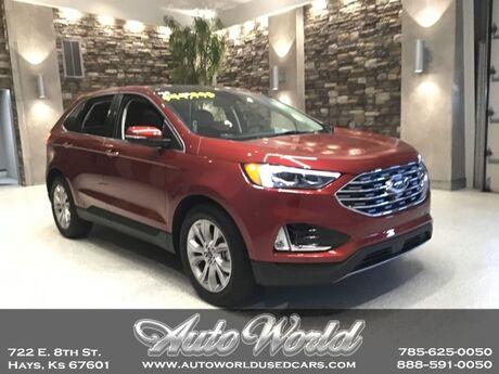 2019 Ford EDGE TITANIUM ECO AWD  Hays KS